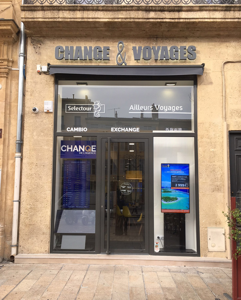 Chantier Store banne Sélectour Aix-en-provence